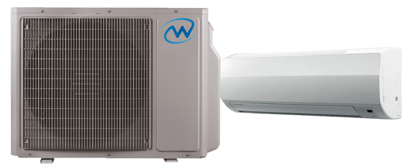 Willis ac combo outdoor and indoor units
